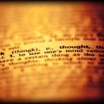 reflexão pensar